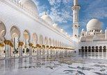 Visita Abu Dhabi con la Gran Mezquita por la mañana,