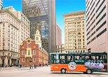 Excursão de bonde com várias paradas por Boston. Boston, MA, ESTADOS UNIDOS