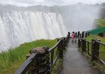 Victoria Falls Day Trip (Zambia & Zimbabwe) Combined Guided Tour Experience,