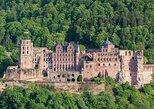 from Frankfurt: historic Heidelberg, Mercedes Benz Museum & Schwetzingen palace,