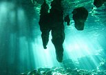 Caribbean sea snorkeling, underground river and cenote from Playa del Carmen,