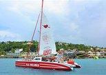 Montego Bay Catamaran Cruise, Snorkeling, Open Bar and Pickup,