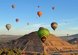 Hot Air Balloon Flight over Teotihuacan, from Mexico City,