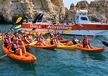 Kayak Adventure to go inside Ponta da Piedade Caves/Grottos and see the Beaches, Lagos, PORTUGAL