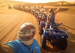 Red Dunes By Quad Bike, Sandsurf, Camels & BBQ at Al Khayma Camp,