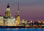 St. Petersburg: Night boat excursion looking at the drawbridges (audio guide),