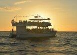 Cruzeiro no Golfo do México ao pôr do sol, saindo de Nápoles,