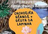 Cachoeira Grande + Gruta da Lapinha, Belo Horizonte, BRASIL