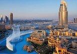 Tour de un día completo de Abu Dhabi a Dubai con almuerzo en las fuentes de Dubai,