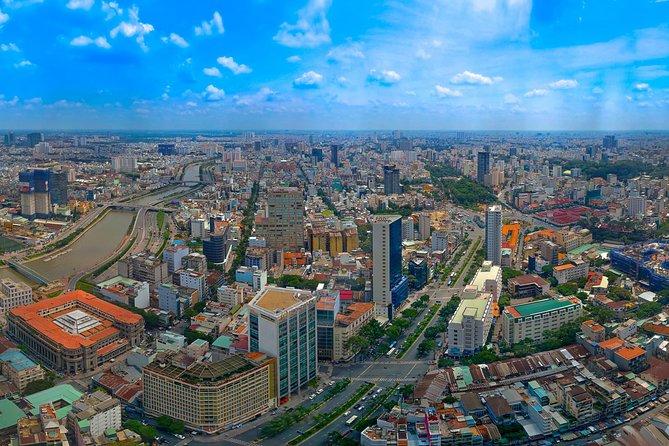 Rascacielos Bitexco Financial Tower: entrada general para el mirador Saigón Skydeck, Ho Chi Minh, VIETNAM
