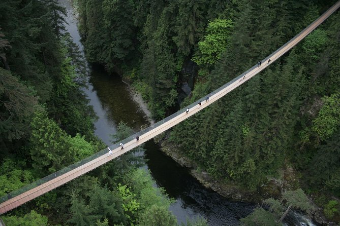 Only minutes away from downtown Vancouver, appreciate nature from three breathtaking perspectives - world famous Capilano Suspension Bridge spanning 137m (450 ft) and 70m (230ft) high above the Capilano River, the seven bridges of Treetops Adventure and the thrilling Cliffwalk, a heart-stopping 700ft journey along the granite cliffside offering panoramic views of the rainforest and canyon below.<br><br>History, culture and nature are presented in unique and thrilling ways with knowledgeable staff and interpretive signage providing as much or as little information as guests want. Seasonal events like Raptors Ridge birds of prey June to October and Canyon Lights in December enhance this year-round destination.
