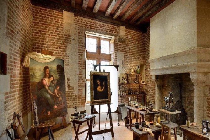 Admission Ticket to Chateau du Clos Lucé and Leonardo da Vinci Park, Loire Valley, FRANCIA