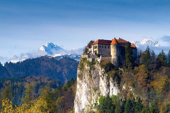 Your visit to Slovenia wouldn't be a perfect one without marveling at the grand view from Bled Castle, a medieval jewel in Upper Carniola.This admission ticket will gain you access to the oldest castle in Slovenia for youto explore it at your own pace.