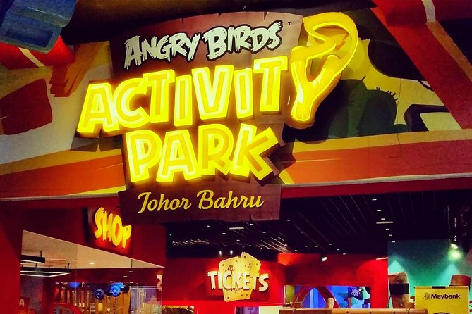 Join in aday of fun and excitement with the world's cutest and angriest birds here at this air-conditioned indoor playground!Wait no more andcome over! There's so much to do inside this park!