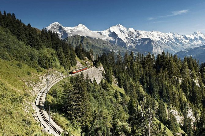 Opened in 1893, the nostalgic cogwheel railway carries visitors up to the breath-taking Schynige Platte with a wonderful mountain scenery and a popular hiking region with unparalleled views of the Eiger, Mönch & Jungfrau