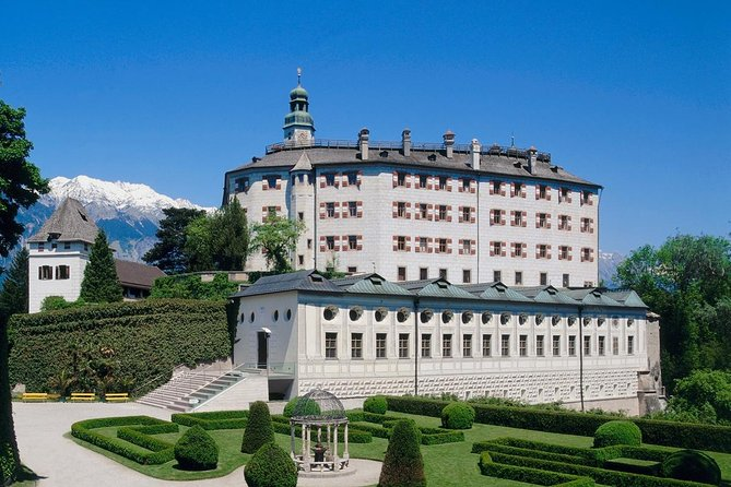 Visit beautiful Castle Ambras in Innsbruck, a Renaissance castle and palace located in the hills overlooking the city. Explore the picturesque Renaissance castle, one of Innsbruck's most popular attractions, and also see the precious art collections and magnificent grounds with your entrance ticket.