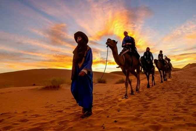 If you are already visiting Spain and you're looking for the most exotic weekend break, extend your journey south to the Kingdom of Morocco. Yes you can! with our Morocco 4 days private tour of the north of Morocco you will enjoy the beauty of Morocco in a very short time. A journey to the magical country of Morocco on this 4-day private guided tour from Spain's Andalusia region. Take a weekend break from Spain, or pair this tour with your Spain vacation. With your guide, cross the Alboran sea to North Africa, and explore the Kingdom of Morocco. Visit Fes, Tangier, and the Mystical town of Chefchaouen. This comprehensive tour includes a cultural sightseeing experiences, trekking in the Rif Mountains, museums visits, and time for shopping in the famous Fes souks.