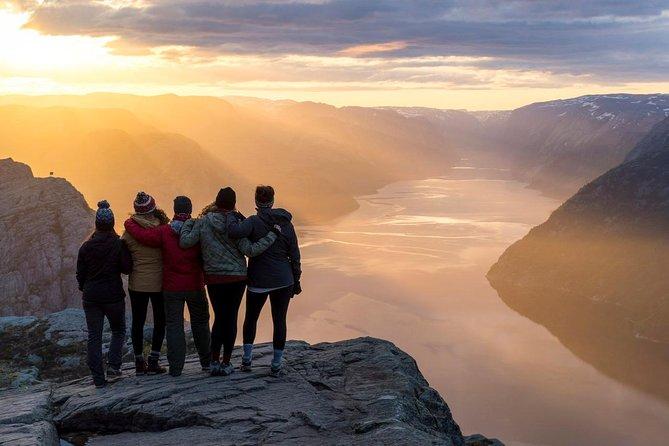 Preikestolen Sunrise Hike, Stavanger, NORWAY