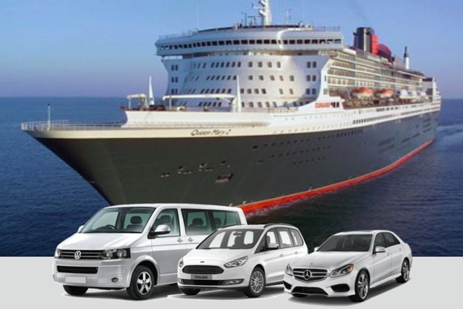 Enjoy this private transportation service; select your preferred pick up time to suit you, with full Meet and Greet Service at the Cruise Terminal and enjoy this hassle and worry-free Tilbury Cruise Terminalprivate transportation service.