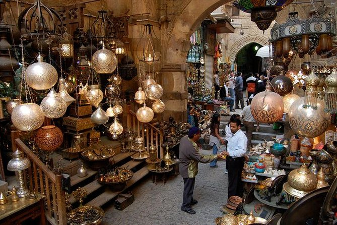 CAIRO DAY TOUR TO EGYPTIAN MUSEUM CITADEL and KHAN KHALILI BAZAAR, El Cairo, EGIPTO