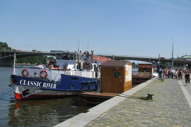 Panoramic Vltava River Cruise in Prague, Praga, REPUBLICA CHECA