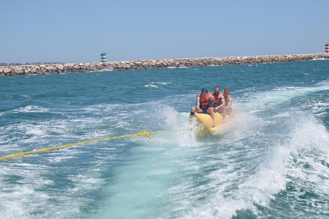 Banana Boat Ride from Vilamoura, Albufeira, PORTUGAL
