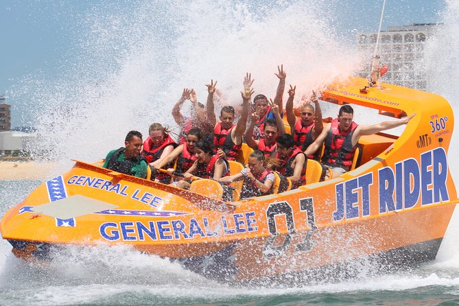 Try this new amazing experience. Feel the adrenaline rush on this 30 minutes Jet Boat adventure. Try General Lee boat and enjoy the wind in your hair during this roller coaster ride while an experienced captain performs spins and power break stops.