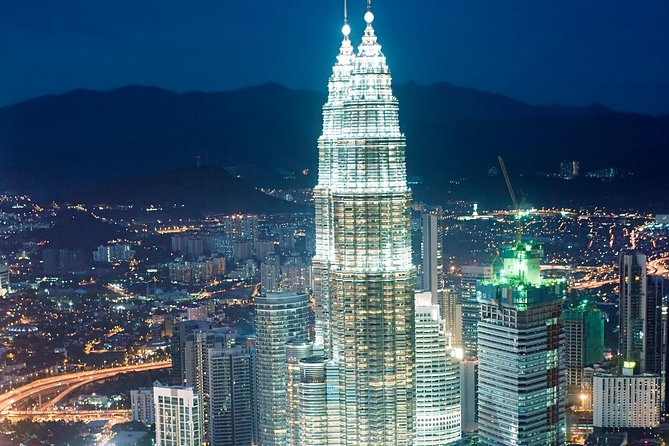 Visit the tallest twin towers in the world with skip-the-line entry. This admission ticket to the Petronas Twin Towers in Kuala Lumpur gives you access to the observation deck at 558 feet (170 meters) in the air. Enjoy panoramic views of whole city during this 45-minute experience. Select a ticket time when booking.