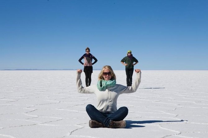 If you are traveling to Bolivia, a day trip to the Uyuni Salt Flats is something that can't be missed. Cruise along out-of-this-world landscapes and take incredible perspective photos in the world's largest salt flats.