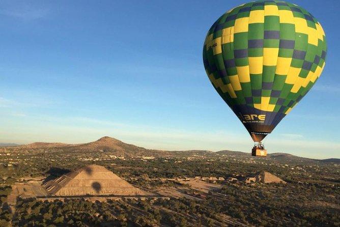Full-Day Teotihuacan Hot Air Balloon Tour from Mexico City, Ciudad de Mexico, Mexico