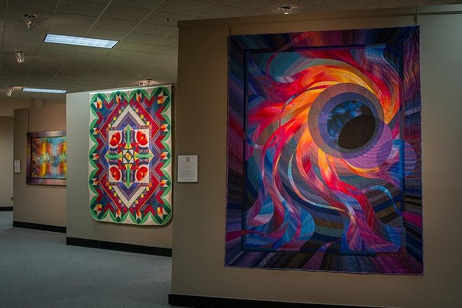 Be mesmerized by the incredible world of fiber art with this Admission Pass to the National Quilt Museum. Explore fascinating exhibits of quilts and fiber art, ranging from Art Quilts of the Midwest to Miniature Quilts and everything in between. Fall in love with the patterns, imagery, and intricacy of these works of art in the National Quilt Museum.