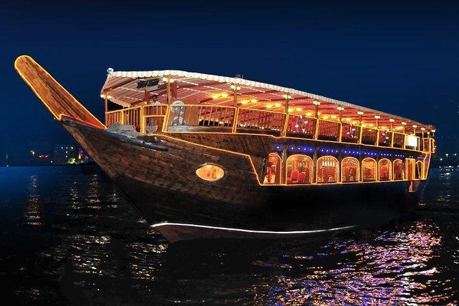 MÁS FOTOS, Abu Dhabi Dhow Dinner Cruise- Romantic Evening with Authentic Arabic Cuisine