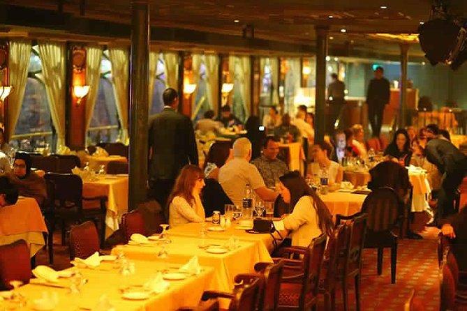 Nile Dinner Cruise on Nile Maxim the Most Luxurious Cruising Restaurant in Cairo, Guiza, EGIPTO