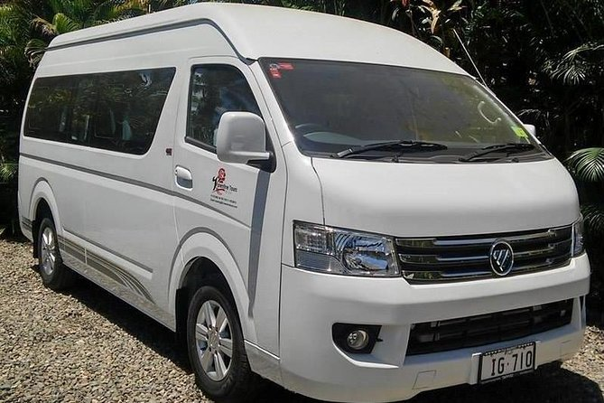 At the end of a relaxing Fijian holiday, get back to the airport the easy way with this shared departure transfer. An air-conditioned car, minivan or coach takes you from your hotel to Nadi International Airport in time for your flight. This one-way transfer service is available 24 hours a day, seven days a week.