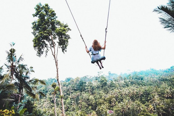 Enjoy this 10-hour private tour to experience the best of Ubud village with lunch. Visit the most sacred monkey forest in the heart of Ubud. Have a jungle swing inside the coffee plantation. Stop at Tegalalang rice terraces and have a spiritual feeling inside the holy spring temple. Pamper your eyes to see Tegenungan waterfall where you can relax and swim. There is a maximum group size of 15.