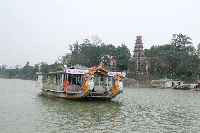 Hue: Thien Mu Pagoda by Dragon Boat, Hue, VIETNAM