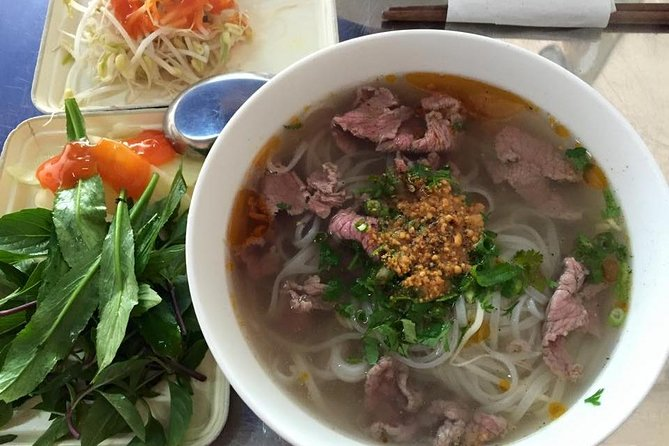 Morning food tour: 11 dishes, white rose making and foot massage, Hoi An, VIETNAM