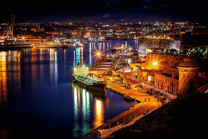 Valletta: Two Harbors Cruise by Night, La Valeta, MALTA