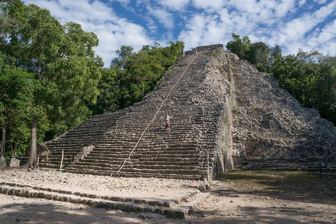 For Mayan history lovers! Visit the Tulum and Coba ruins with a private official guide. All included, with private transportation.