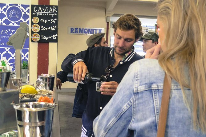 Visita guiada al mercado local de Biarritz con degustación, Biarritz, FRANCIA