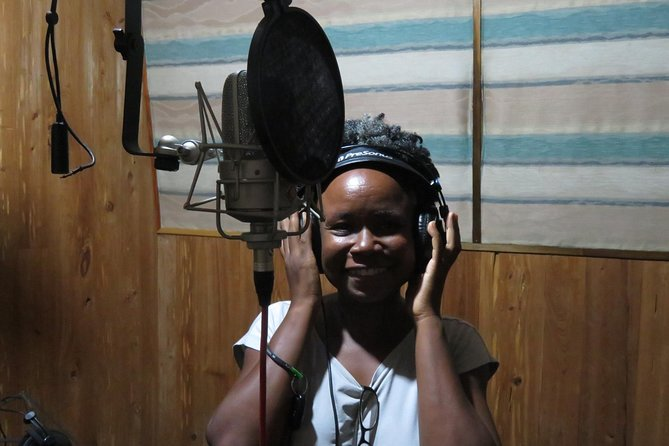 Creating Music in a Recording Studio, Kingston, JAMAICA