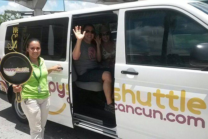 • Have a personal driver take you to your hotel in Tulum a board a comfortable van. If you have a group of people coming with you this is the best option to have someone waiting for you just in time for your arrival. This service runs 24/7 and has a waiting time of 5 minutes at Cancun Airport.