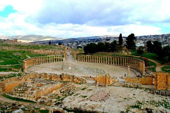 Half Day Tour of Jerash and Ajloun, Aman, Jordânia
