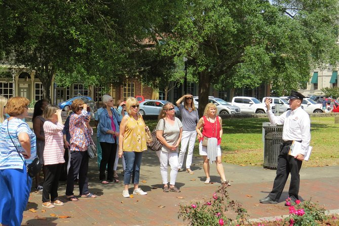 Meet at Fleet Landing (200 Commendencia St) with one of our veteran guides and walk Pensacola's historic waterfront district and hear memorable ghost and troubling stories.  Stops occur in front of former bars, jail, firehouse, restaurants, and even a brothel.