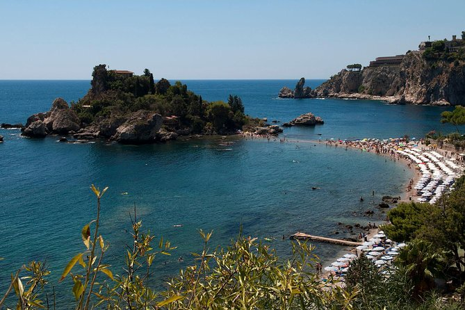 Tour to Taormina where you can visit its famous sites like the Greek theater, the Cathedral and a view on Mount Etna and bay of Giardini Naxos. Continue with a transfer to the town of Castelmola and head back to Messina with a city tour included.