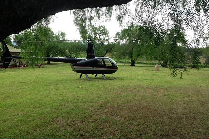 Why not enjoy a spectacular scenic flight before being dropped for by helicopter to a bubbly breakfast!!
