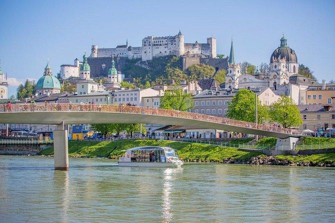 Salzburg Sightseeing City Cruise on Salzach River, Salzburgo, AUSTRIA