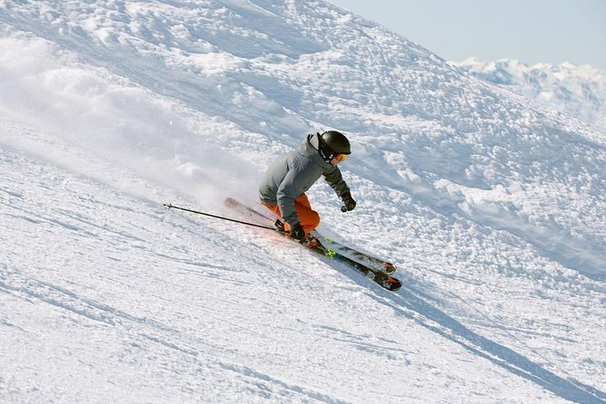 Demo Ski Package is the latest and greatest ski equipment available for the new season. Varied shapes, sizes, and colors to please the most advanced skiers and make a novice look like a pro. A full-day rental, plus time to relax and return the gear.