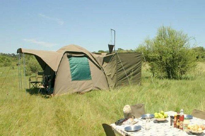Safari con acampada de 3 días en el Parque Nacional de Chobe desde las Cataratas Victoria, Cataratas Victoria, ZIMBABUE