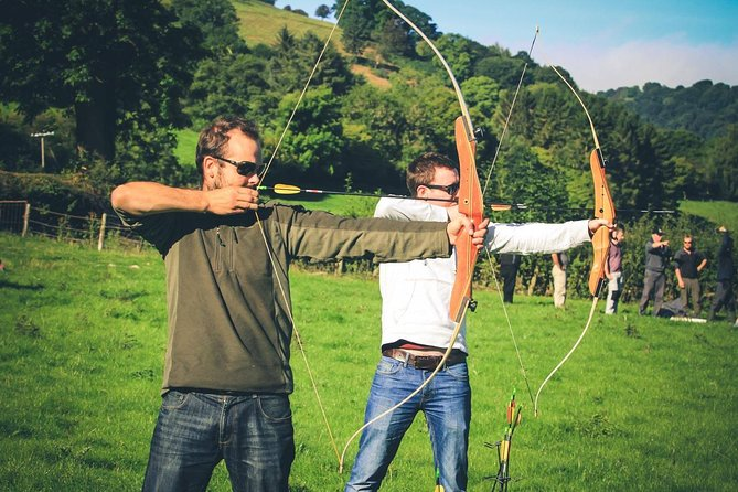 This target sports session taking place in Llangollen in North Wales lasts for 2.5 hours and is perfect for anyone who's interested in learning a new sport, who has a steady hand (or wants to have one), and who might like to get a little medieval with their target sports.